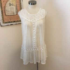 American Rag lace boho top